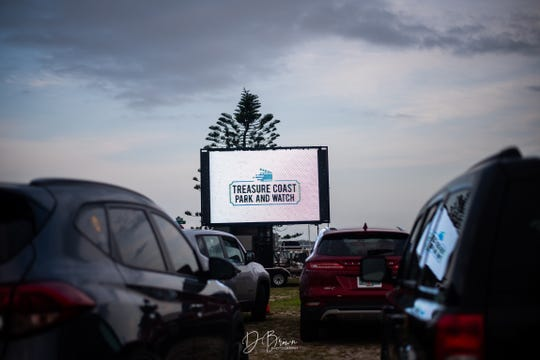 The grand opening weekend of the Treasure Coast Park and Watch drive-in movie night kicked off April 17, 2020, at Causeway Cove Marina in Fort Pierce.