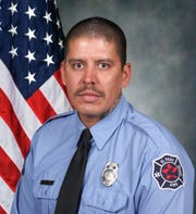 El Paso firefighter Eduardo Ramirez died after collapsing during a workout on Tuesday, April 21, 2020, at El Paso Fire Station No. 8.