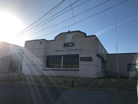 A view of an Electrocomponentes Internacional factory on Tuesday, April 21, 2020, after workers protested the company's refusal to shut down production amid a coronavirus pandemic.