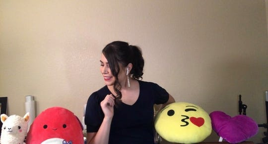 "Alejandra Sandoval sang to her sister's toys for the upcoming virtual UTEP Opera Department show, ""What is Opera?"""
