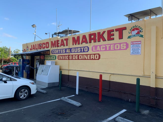 Jalisco Meat Market was burglarized on Tuesday, April 21, 2020.
