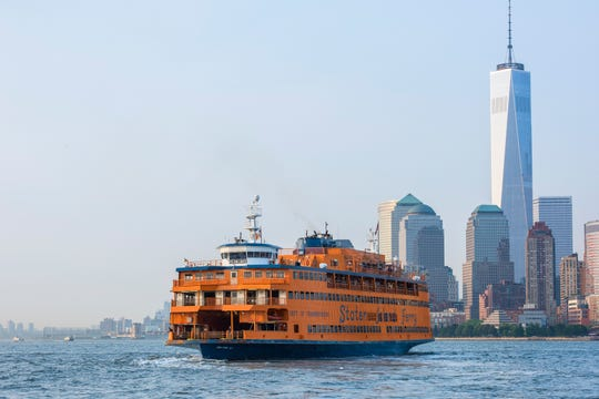 "The Staten Island Ferry was featured in ""Sex and the City."""