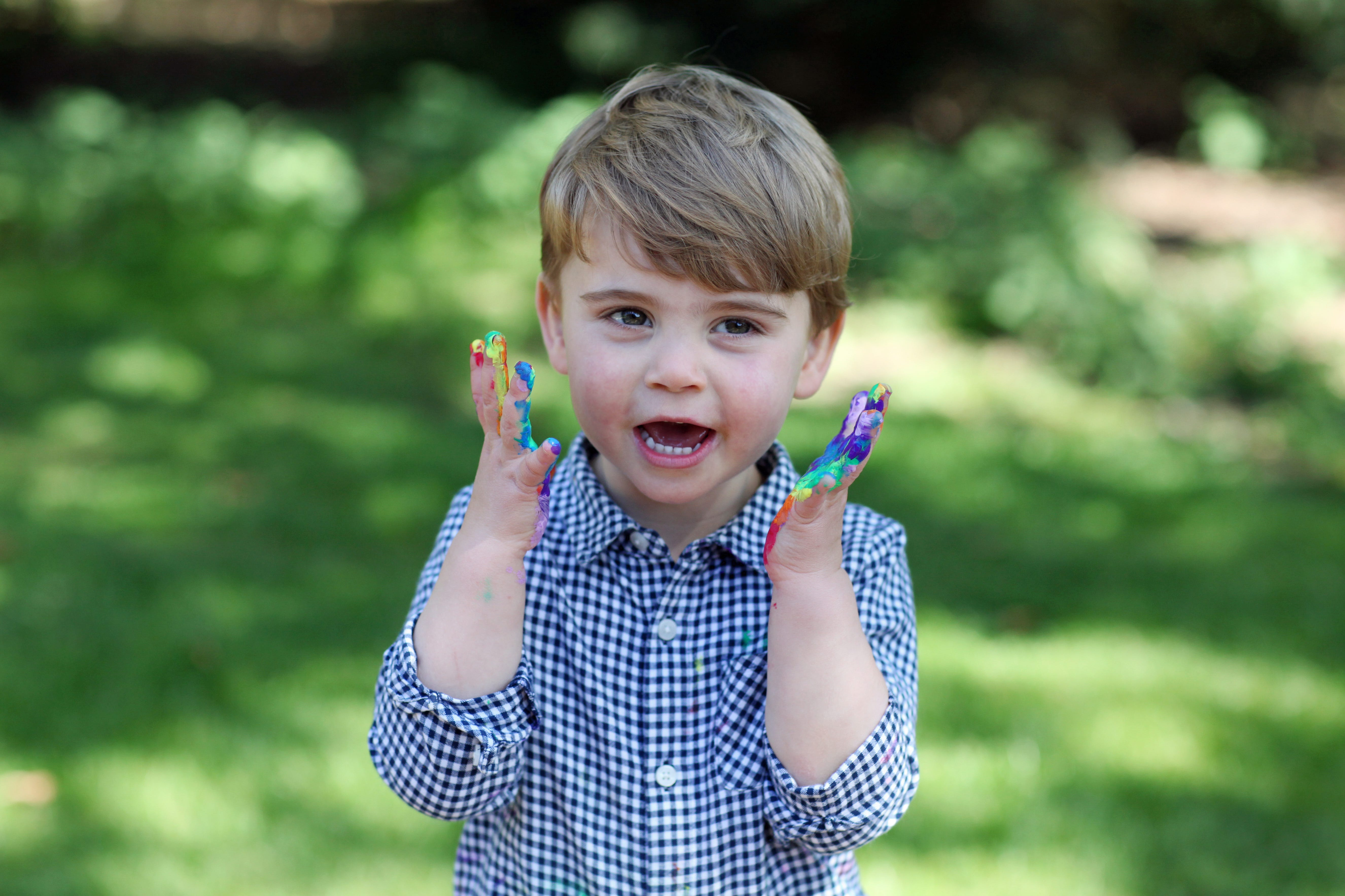 Prince Louis 2020 Christmas Images Photos: Happy birthday, Prince Louis! Youngest royal Cambridge turns 2