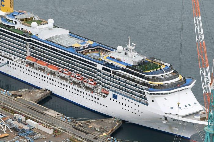 34 crew members positive for COVID-19 on docked Costa Atlantica; Costa Deliziosa docks in Italy