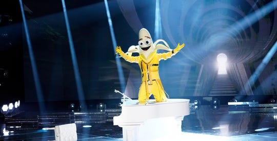 """The Banana sings in """"The Masked Singer."""""""