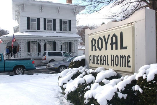 Royal Funeral Home in 2002.   Kevin Hare/The Enquirer