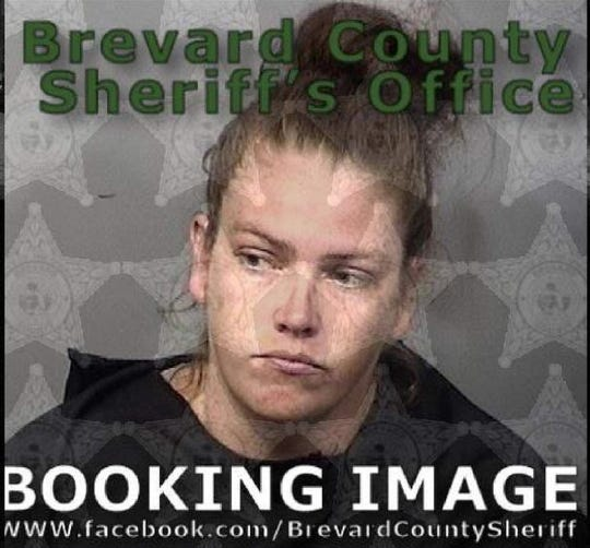 Mary Nevil, 30, was arrested in Cocoa