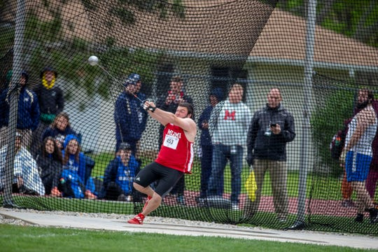Seth Hoffman finished eighth at the MAC Championships last year.