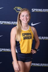 Sari Conner graduated from Galion in 2019 and continued her athletic career in Michigan.