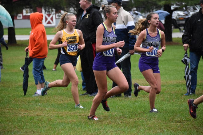 Sari Conner's best time in cross country this year was a 22:01.0 at the Bethel XC Invitational.