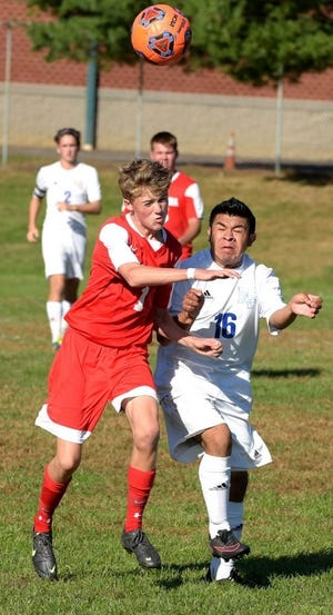 Fisher Hudak (1) scored 10 goals in his first 10 games as a Palmyra freshman, then moved on to play soccer at the Next Generation Leadership Academy and Ocean City High School.