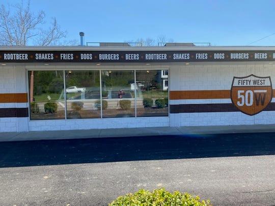 The Burger Bar at 50 West