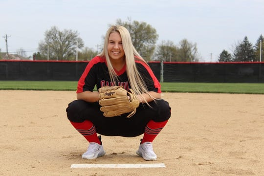 Oak Hills pitcher Kayla Roddy would have played her senior season on the softball team wearing No. 24. She is the daughter of Chris and Darci Roddy and will continue playing at Thiel College. Have more athletes to add? Email a photo to mlaughman@enquirer.com.
