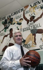 Joe Whalen was the Asbury Park Press' Shore Conference Coach of the Year while at Long Branch