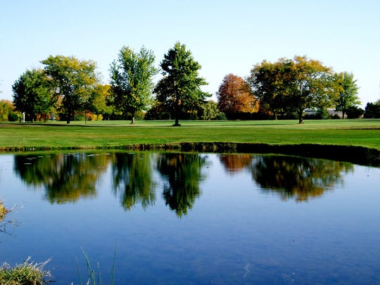 Rustic Ridge Golf Course in Eldridge (pictured here) sits about 18 miles from the Illinois border. It's one of Iowa's many courses that's seen an uptick in out-of-state golfers during the coronavirus pandemic.