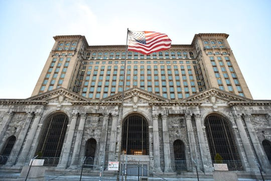 Ford Motor Co. is continuing renovation of the Michigan Central Depot, expected to anchor the automaker's campus for autonomous and electric-vehicle development in Detroit's Corktown neighborhood.