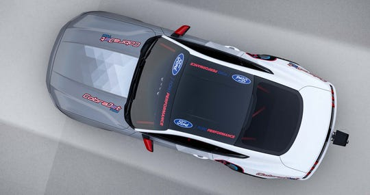 The Ford Mustang Cobra Jet 1400 EV can hit 170 mph in just over eight seconds.