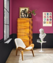 """Want to re-energize your space? Local feng shui expert Dennis Fairchild says moving several things at least 18 inches from their existing place, like the chair in this living room, """"instantly shifts and re-energizes the room, as well as your brain cells."""""""