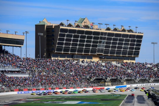 NASCAR ran just four of its 36 races this season before competition was suspended March 13 because of the coronavirus pandemic.