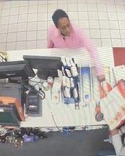 Police on Wednesday released surveillance images of the woman.