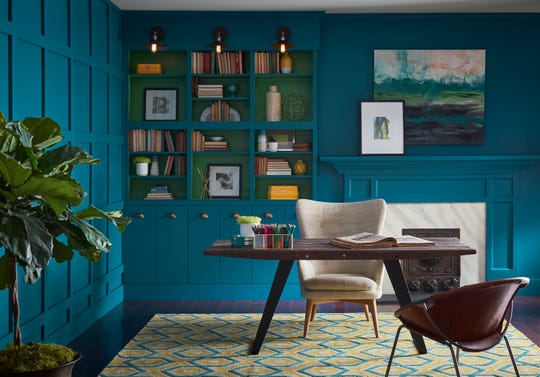 Re-think your home office. Write down what works and what doesn't.