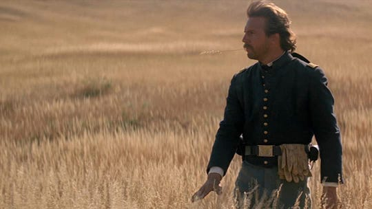 """Kevin Costner in """"Dances With Wolves."""""""
