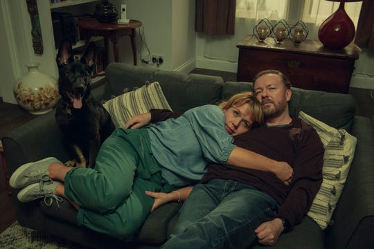 """Kerry Godliman and Ricky Gervais in """"After Life."""""""