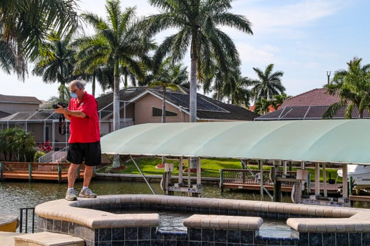 A look at the current state of the real estate market in SWFL, which has recently been seeing an uptick in activity after weeks of decline during the pandemic. Agents are relying heavily on digital methods at this time, such as virtual tours. Bob Quinn, a Realtor with the RE/MAX Realty Team in Cape Coral, filmed  a virtual tour for an out-of-town buyer who is interested in purchasing this Cape Coral home. More realtors are using digital techniques and relying on them more during the pandemic.