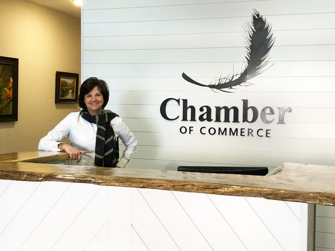 New Henderson Chamber of Commerce President Ellen Redding had been excited that the chamber's new office at 114 N. Main St. provided visitors with ground-floor access. But less than three weeks after opening, the office had to be closed to the public because of the COVID-19 pandemic.