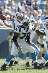 Former Ole Miss lineman Tutan Reyes played nearly a decade in the NFL, including two years as a starter for the NFC champion Carolina Panthers.