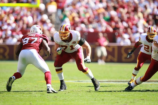 Former Ole Miss offensive lineman Todd Wade (71) played nearly a decade in the NFL, starting almost 100 games for the Miami Dolphins and Washington Redskins.