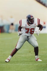 Former Ole Miss lineman Tutan Reyes was one of three Ole Miss players picked in the 2020 NFL Draft.