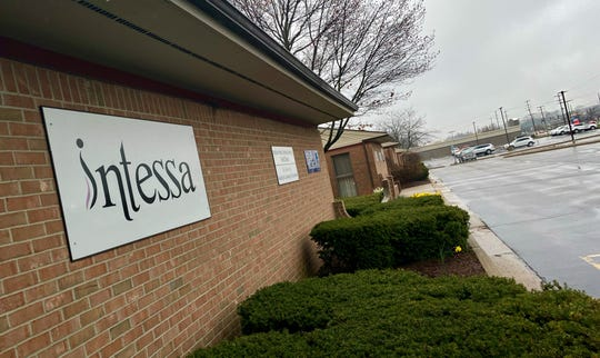 Intessa, a clinic in Okemos providing certifications for medical marijuana cards, is pictured Thursday, April 23, 2020.