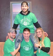 Kasten Exteriors took third place in The Haven of Manitowoc County's third annual Shamrocks for Shelter bean bag tournament.