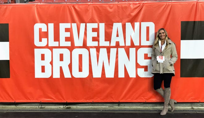 2013 Mansfield Senior grad Victoria Leahy spent three years in the sales department for the Cleveland Browns and is now a Partnership Sales Account Executive for the New Orleans Saints and Pelicans.