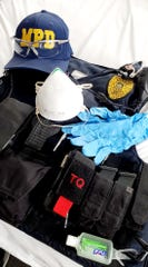 Officers with the Marion Police Department have added goggles, N-95 respirators, nitrile gloves, and hand sanitizer to the usual lineup of protective gear they wear while on patrol. Chief Bill Collins issued the directive for the additional gear on April 18 in an effort to protect both officers and community residents with whom they come in contact.
