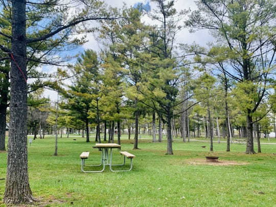 Jellystone Park in Caledonia has campsites for everything from tents to RVs.