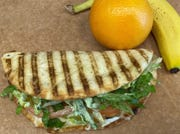 In addition to smoothies, Tropical Smoothie Cafe has flatbreads, wraps, quesadillas, sandwiches, and bowls.