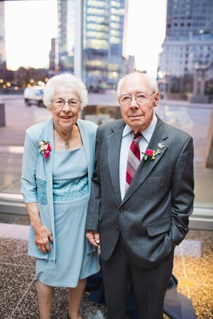 Wilford and Mary Kepler died within hours of each other April 18. They had been married for 73 years.