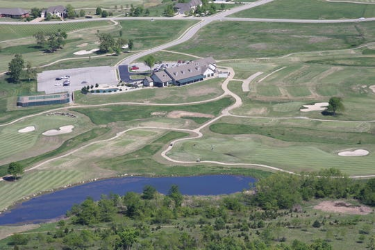 An aerial view of Big Creek Golf & Country Club, which celebrates its 20th anniversary this month.