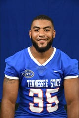 Tennessee State running back Jordan Bell is a redshirt sophomore from Antioch, Tenn. and Cane Ridge High School.