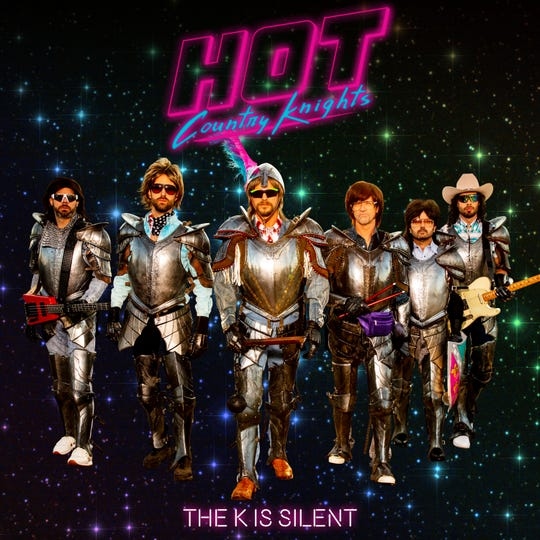 """Dierks Bentley-fronted comedy '90s country band Hot Country Knights will release their debut album, """"The K is Silent,"""" on Friday."""