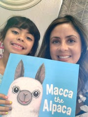 "Hope Morales, Executive Director for Teach Plus New Mexico, and her six-year old daughter Mila Morales read ""Macca the Alpaca on her Facebook page ""NM Nightly Read Alouds"" where every night someone reads a book. Morales started the page when schools were shut down in March and hopes to continue the live readings."