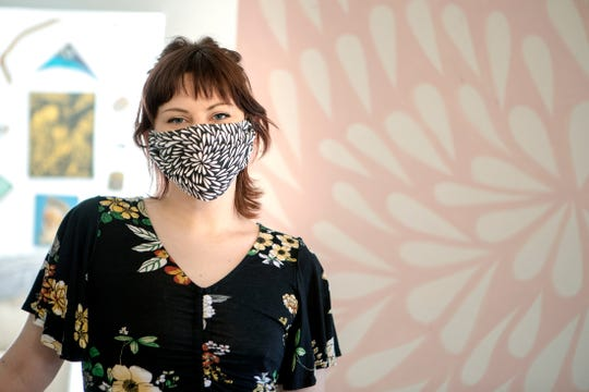 Local artist Kylie Knight, of Palm Desert, is still creating art during the pandemic.