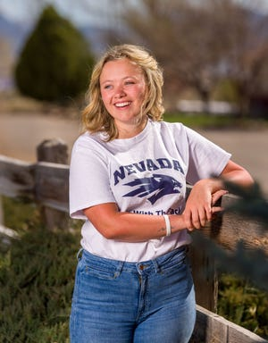 Smith Valley High School senior Abigail Acciari is missing the last few months of high school with coronavirus closures.
