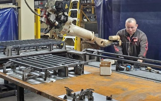 Contract Industrial Tooling in Richmond is manufacturing portable hospital beds for overflow COVID-19 patients.