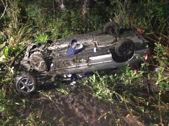 A Salem man was charged after leading police officers on a high-speed chase Wednesday morning through Lincoln City before crashing his car over an embankment.