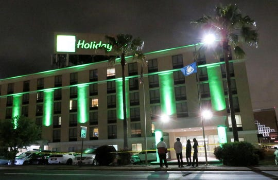 A 54-year-old white man was taken into custody late Wednesday, April 22, 2020, after he allegedly fired multiple shots while inside the lobby of the downtown Shreveport Holiday Inn.