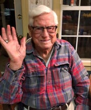 Rod Dugger celebrates his 100th birthday on April 27.