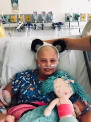 Melodie Caudle is a 5th grader at Beachland Elementary School in Vero Beach. She was diagnosed with acute promyelocytic leukemia in August and has spent the last eight months receiving treatment in Orlando.